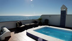 Beachfront Penthouse with Private Pool!!