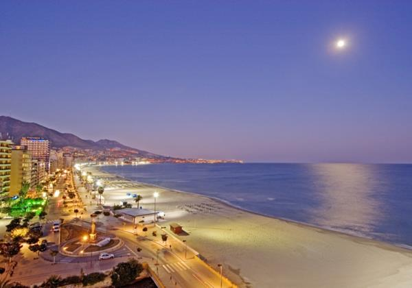 Fuengirola Promenade Evening