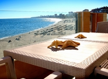 Vegasol Beach New Modern Seafront 1.5 Bedroom Apartment Costa del Sol - Sleeps 5!